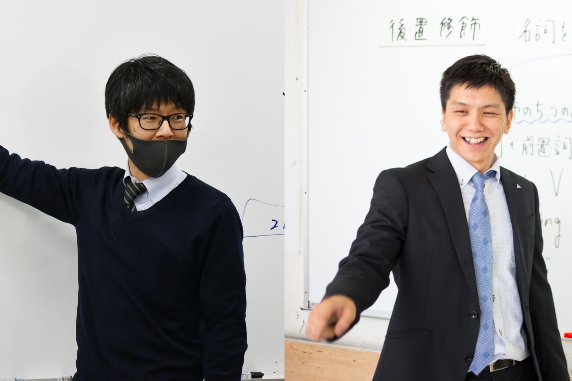 左:赤塚先生、右:松本先生